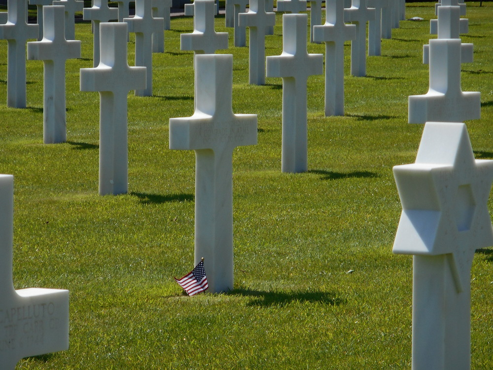 Seeing Normandy, and especially the cemetery there – was one of the most incredible things I have ever seen.