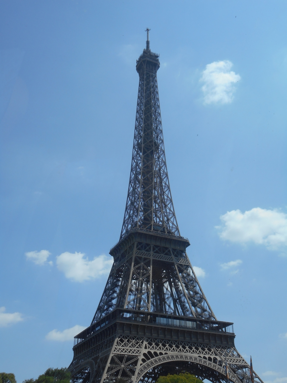 The Eiffel Tower was totally amazing and beautiful; I loved it!