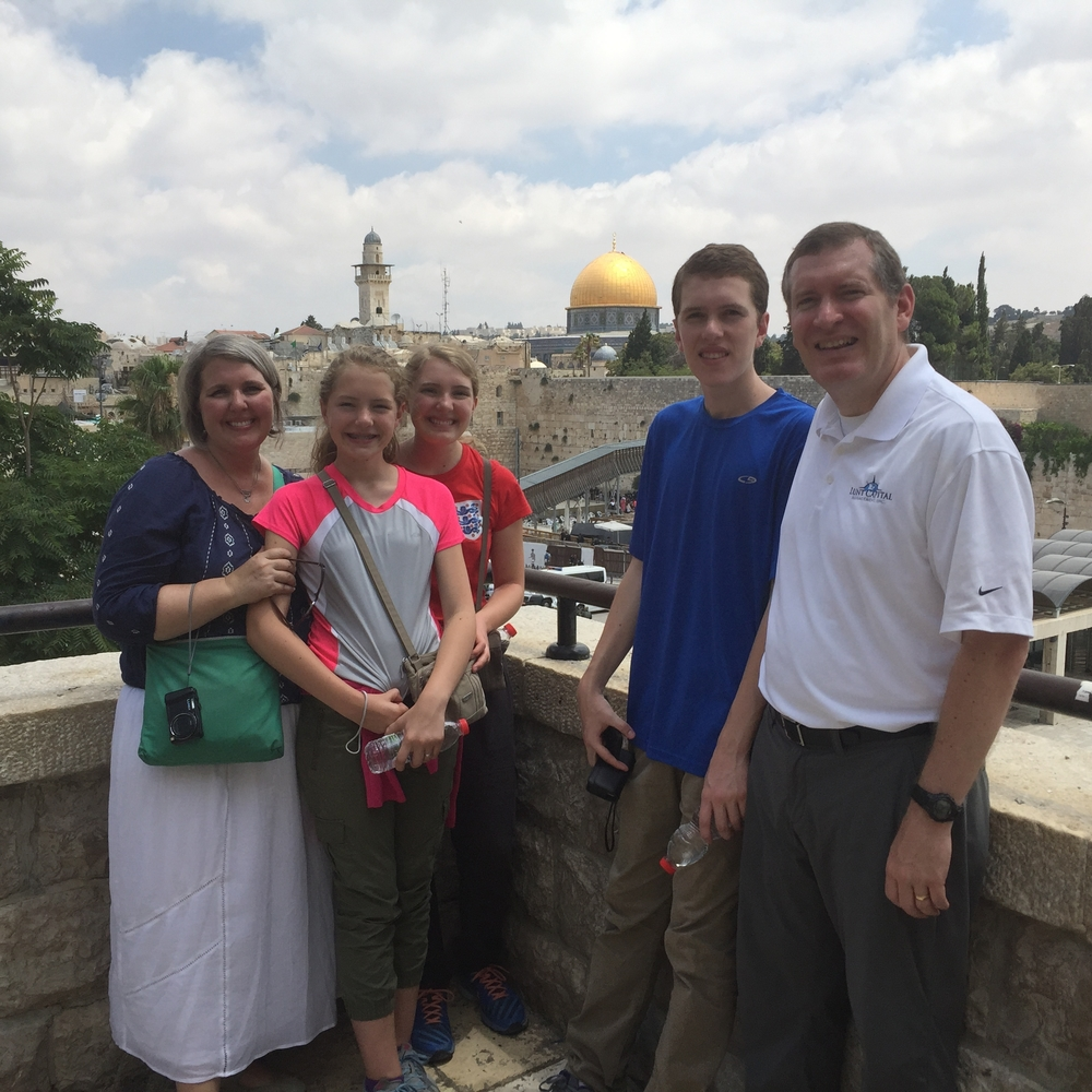 Western Wall and the Dome of the Rock
