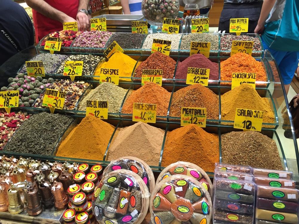 The Istanbul Spice Bazaar
