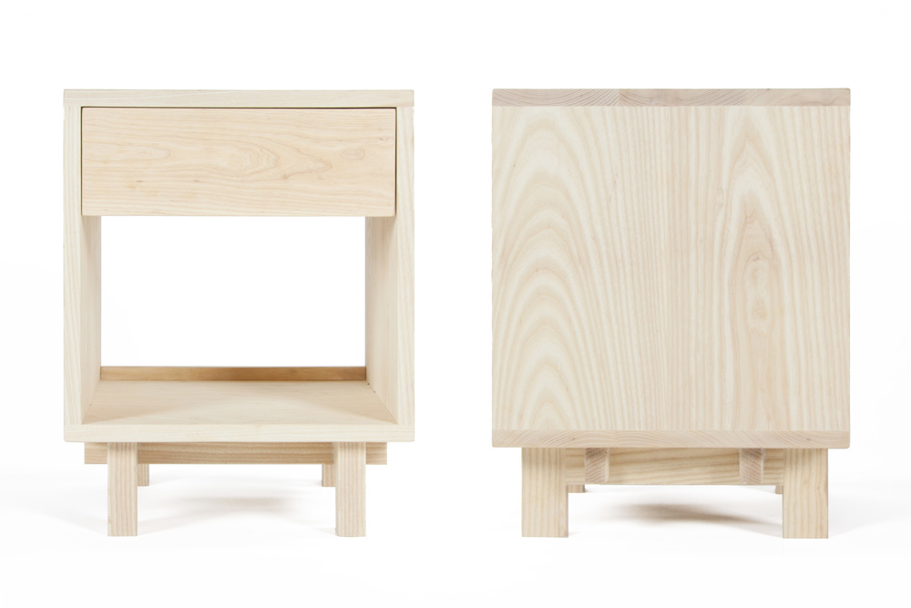 Ada Side Table in ash