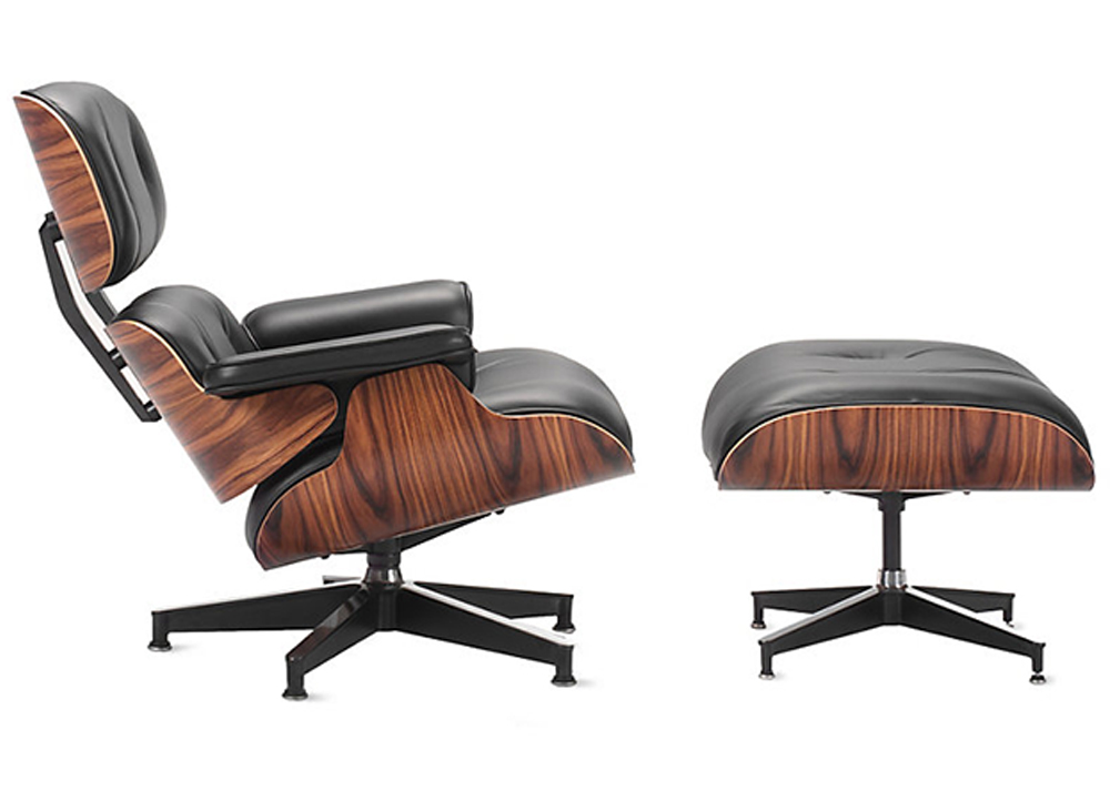 Eames Lounge and Ottoman (1956) for Herman Miller