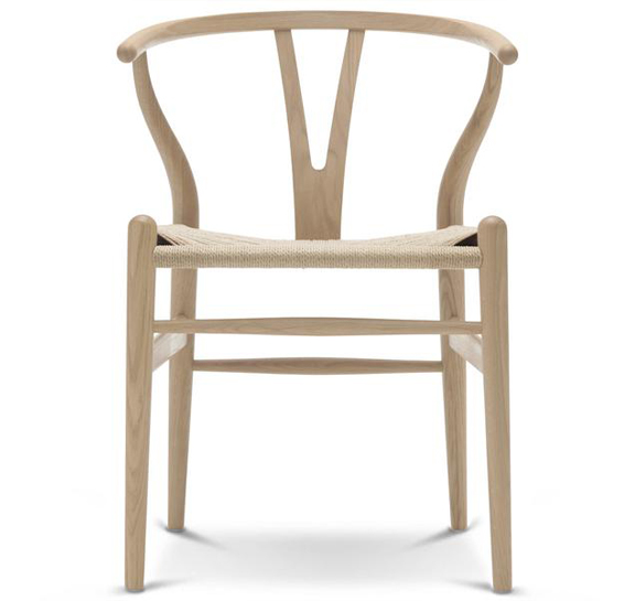 Wishbone Chair CH24 (1949) by Hans Wegner