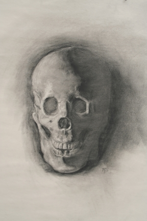 Graphite Cast Drawing, Michael Smithson