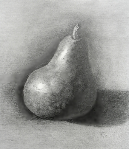 Graphite Drawing, Michael Smithson