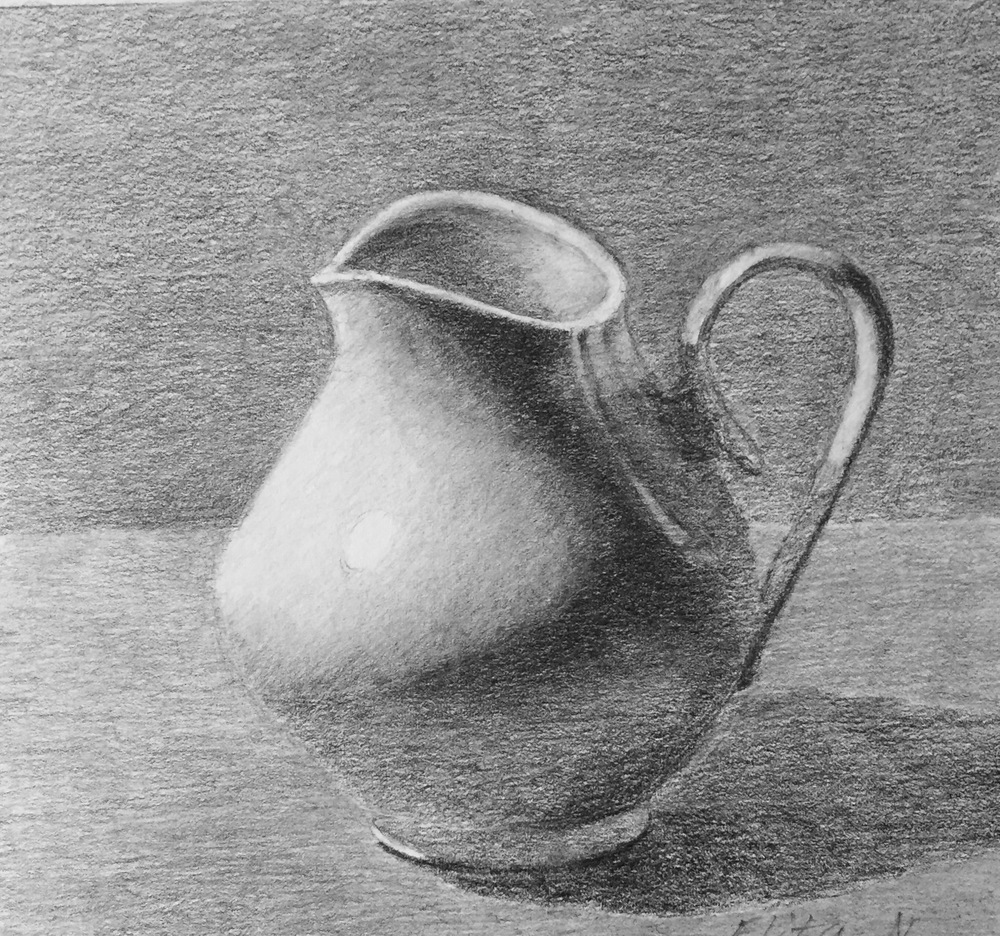 Pitcher, Graphite, Elita Nivens