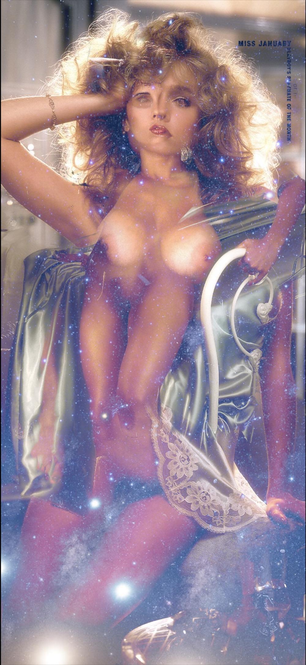 Playboy Centerfold Eighties, Silk Stars, 2019