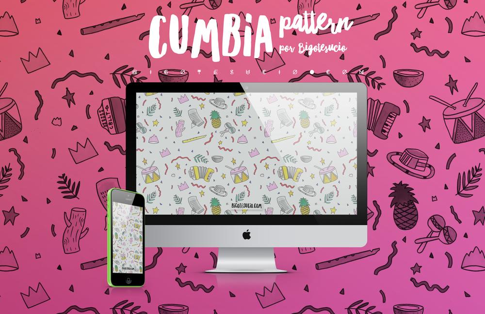 Cumbia wallpaper Bigotesucio