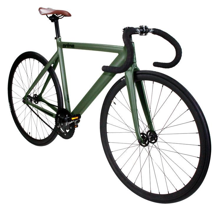 Prime Army Green Fixed Gear Bike — BIKE4LIFECHICAGO
