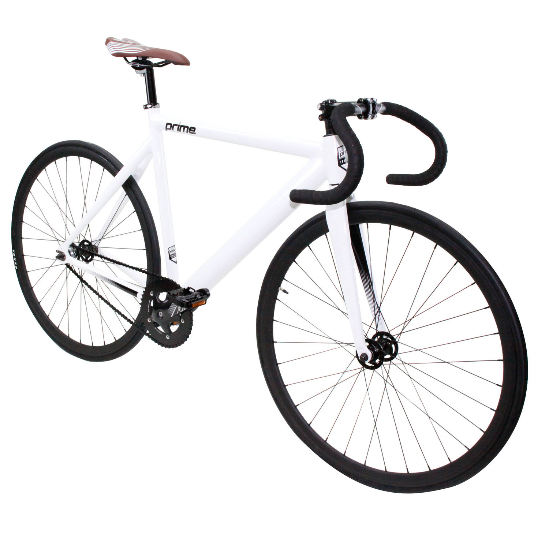 Prime White Fixed Gear Bike Bike4lifechicago