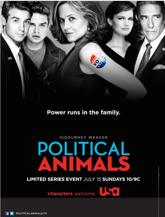 "CO-STAR ON POLITICAL ANIMALS on USA  Montana had a co-star role in ""Political Animals"" on USA Network! Her scene was with Sebastian Stan."