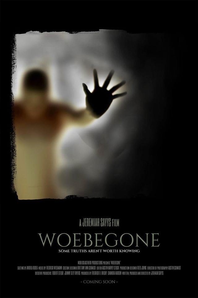 FEATURE FILM 'WOEBEGONE'  I was just cast in the feature 'Woebegone' as the supporting role of Melody Livingston. This one will definitely keep you on the edge of your seat! It's a sci-fi/horror/thriller film. Stay tuned for details!
