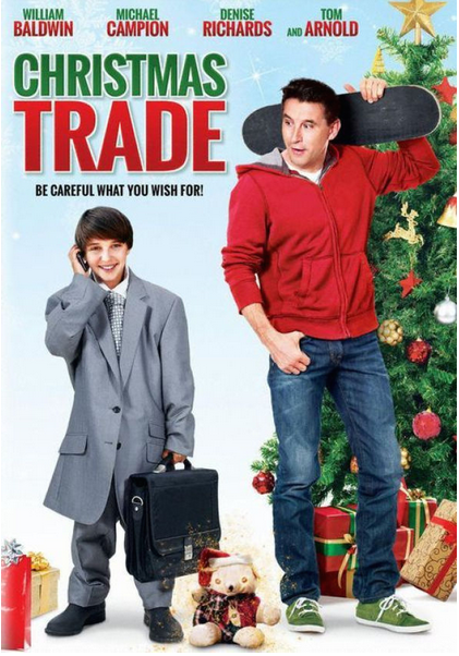 CHRISTMAS TRADE RELEASE  Christmas Trade will be out on DVD Nov. 3rd! Just in time for the holidays! It will also be aired on the UP Network all through the holidays! I play William Baldwin's paralegal in this fun family comedy!