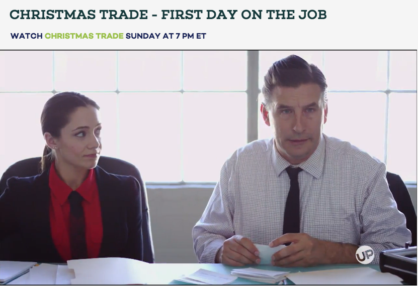 CHRISTMAS TRADE AIRING NOW  Make sure you watch me in 'Christmas Trade' this holiday season on the UPNetwork Channel!!! I play William Baldwin's paralegal!