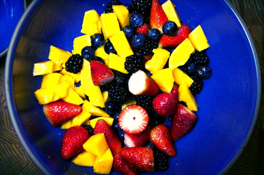 Papaya Berry Salad