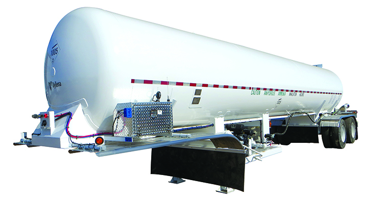 8100 gallon delivery unit