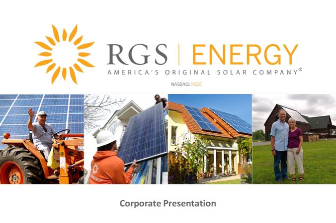 Copy of RGS Energy (NASDAQ: RGSE)