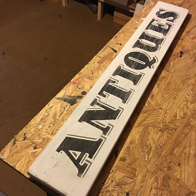 Done. #finished #product #handmade #wood #antique #old #vintage #sign #signs #homedecor #rustic #rusticdecor #farmhousedecor #farmhousestyle #antiques