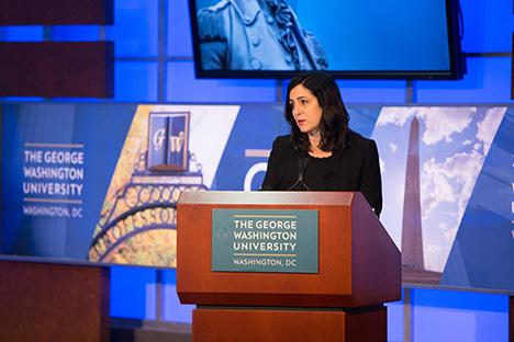 Joanna Shields George Washington Speech