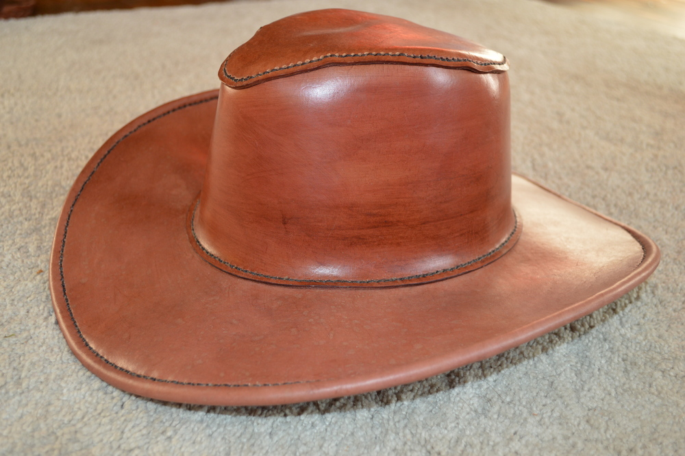 Leather Hat — Evans Custom Leather Creations fb0c934489f