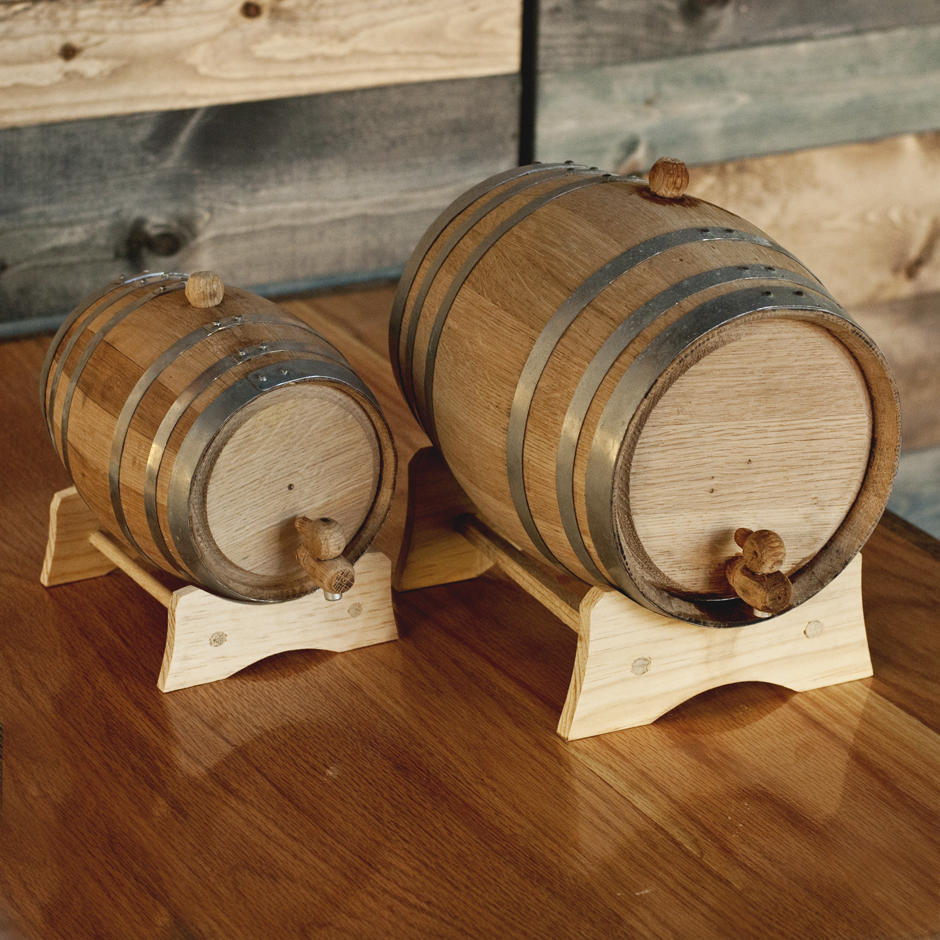 raleigh bourbon barrels