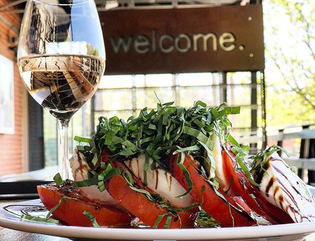 Caprese: heirloom tomatoes, fresh mozzarella, organic olive oil, fresh basil . Executive Chef Scott Phillips @chefesp75 . #jmrkitchens #moreraleigh #eater #basil #caprese #mozzarella #love #bestpicture . @raleighfoodpics @raleighwhatsup @raleighdowntown @downtownraleigh @newraleigh @eatraleigh @eater @foodbeast @foodnetwork #foodie #foodnetwork #foodbeast @trianglefoodadventures