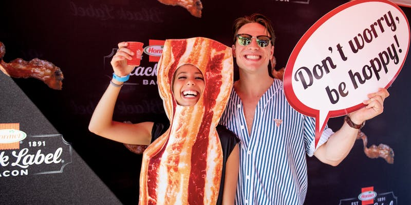 People go nuts for beer and bacon. Which makes sense when you think about it.