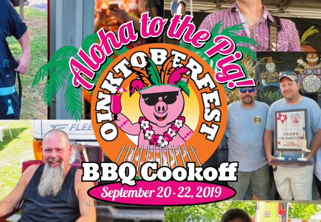 The Oinktoberfest event will probably be cooler than this logo.