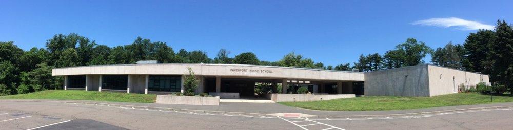 Panorama of the Davenport Ridge Elementary School Building