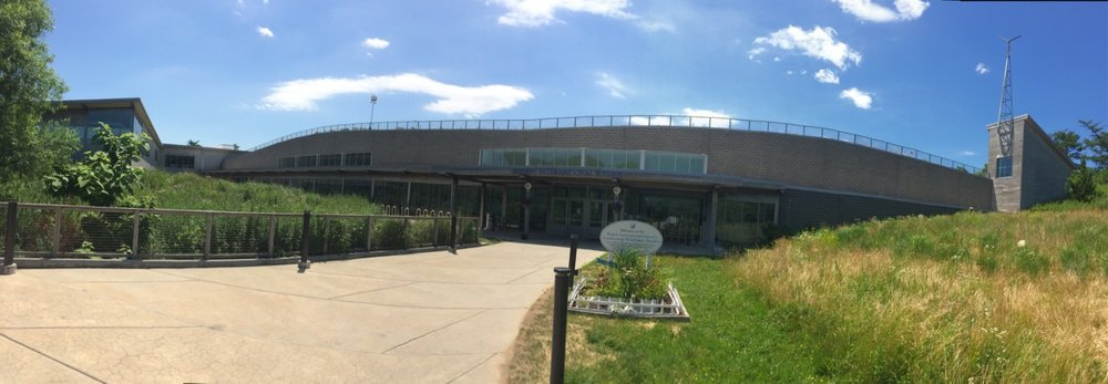Panorama of the Rodgers International School Building