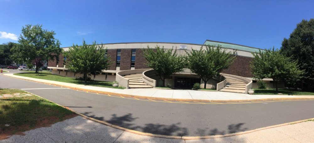Panorama of the Cloonan Middle School