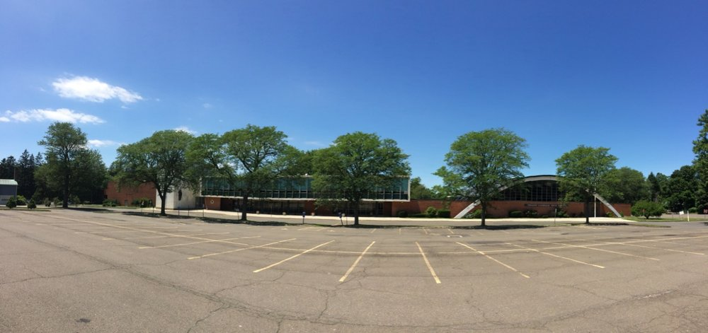 Panorama of the Trinity Catholic High School