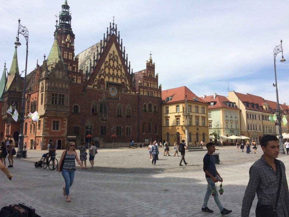 Wroclaw, Poland - Old City Hall