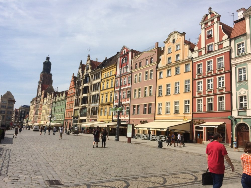 Wroclaw, Poland - Old City Square