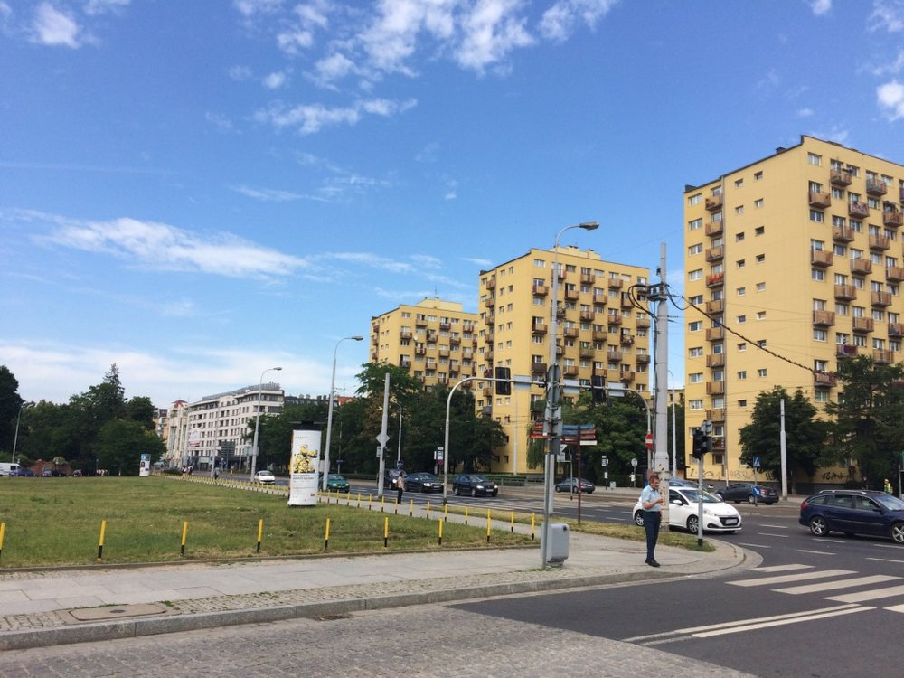 Wroclaw, Poland - comunist era apartment buildings