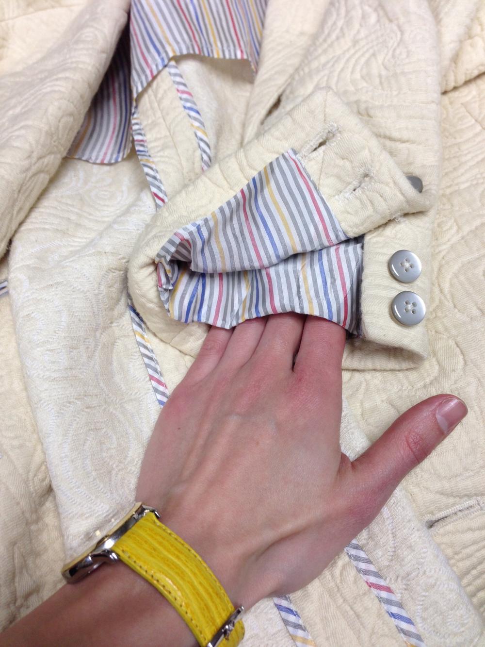 Hidden Handkerchief Pocket - Jackets