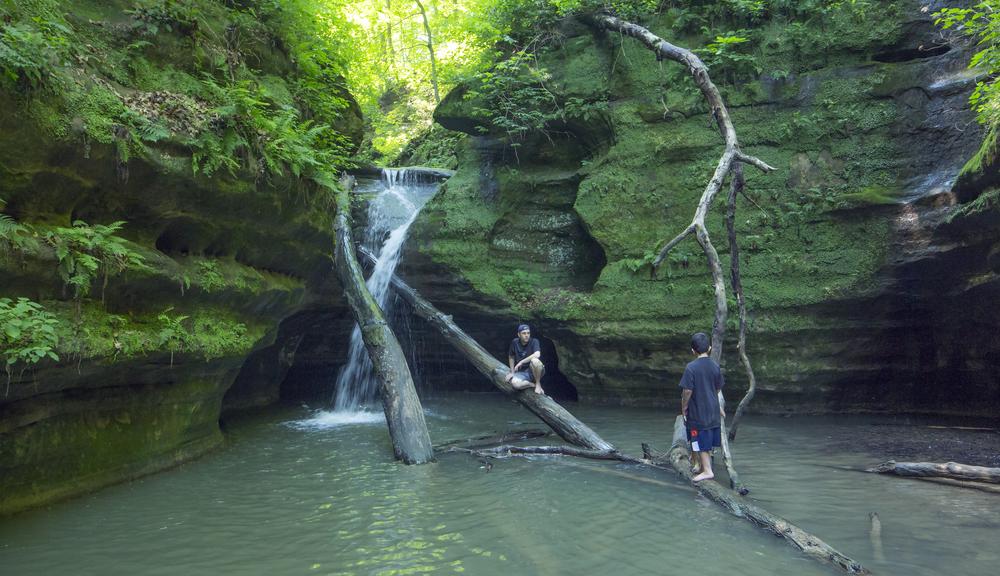 Kaskaskia Falls, Starved Rock State Park (Illinois)