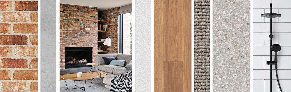 Concept Interior Design - Inspiration Imagery, Harrison Residence. LO Design Studio Canberra Interior Designer