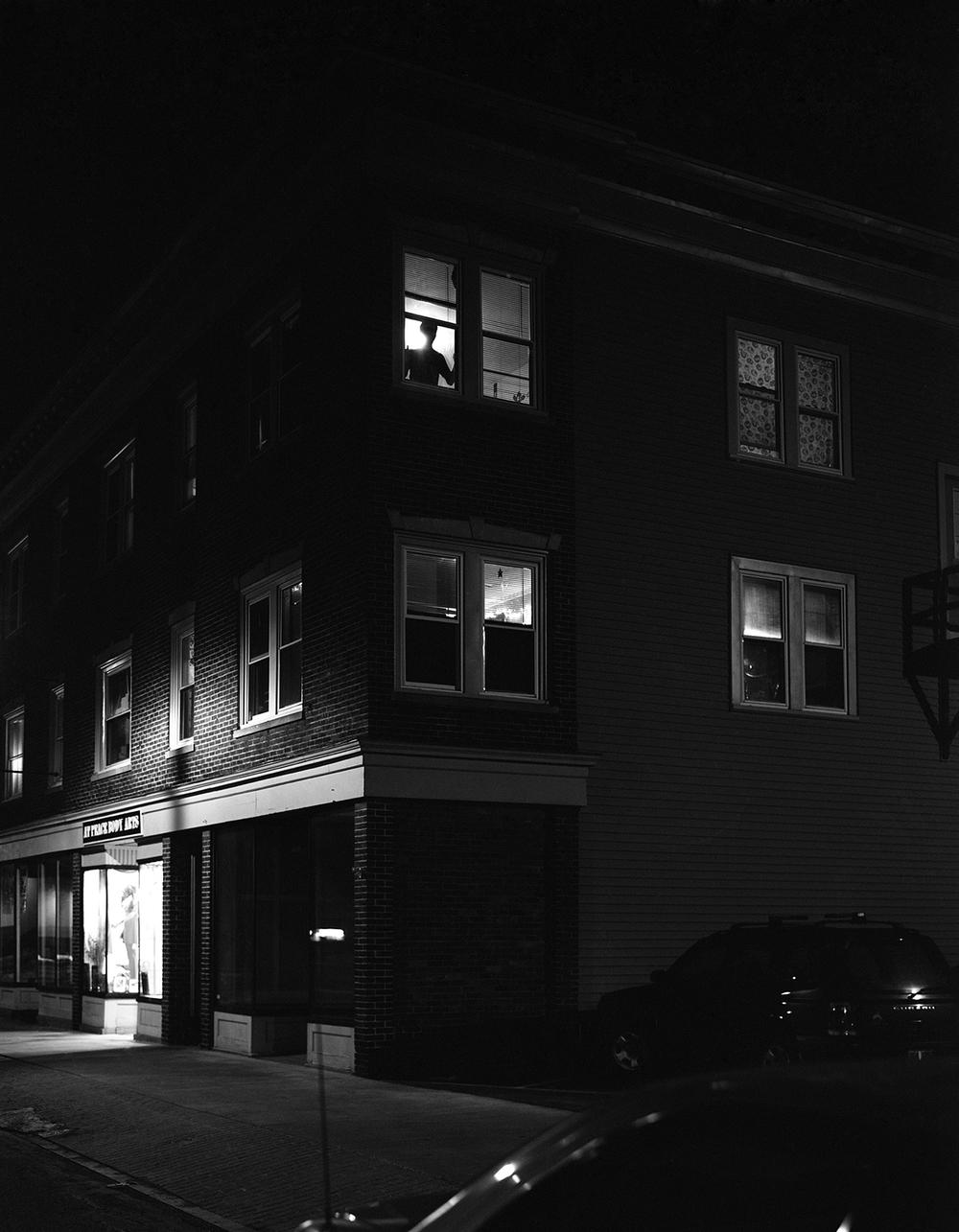 Darren Bilodeau,  Jasper's Apartment, silver gelatin print, 11x14, 2015