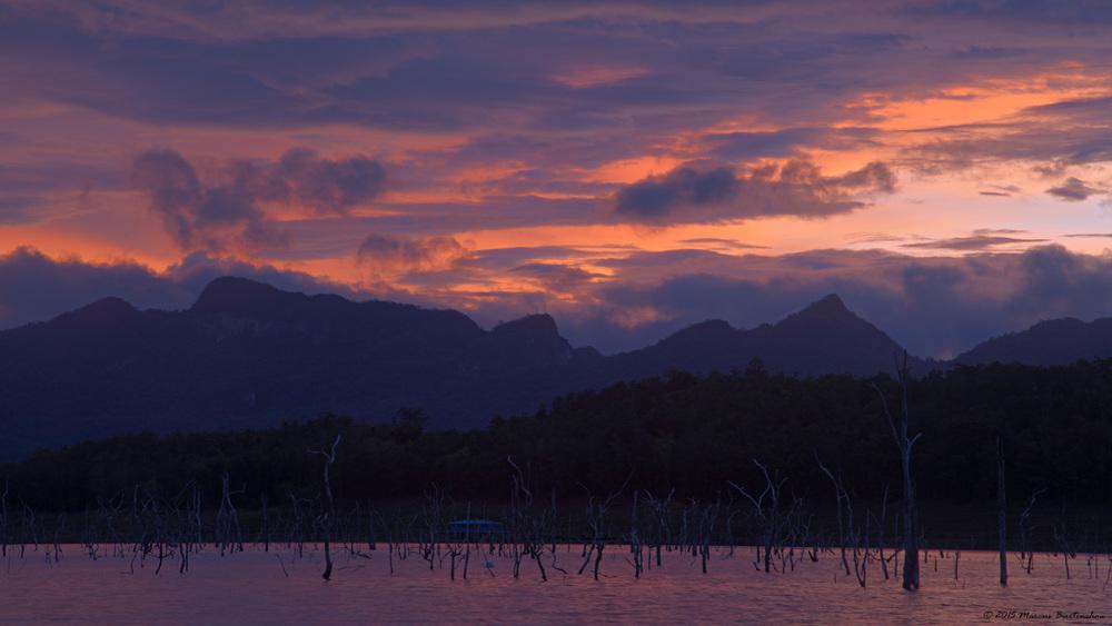 Srinakarin reservoir, Kanchanaburi, Thailand