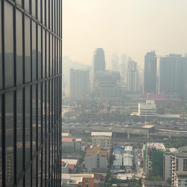 Nope, not running in this #smog #pollution #bangkok