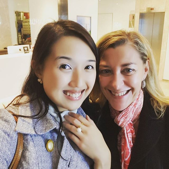 With a friend of Bianca Venere  #italianjewelry #handmade