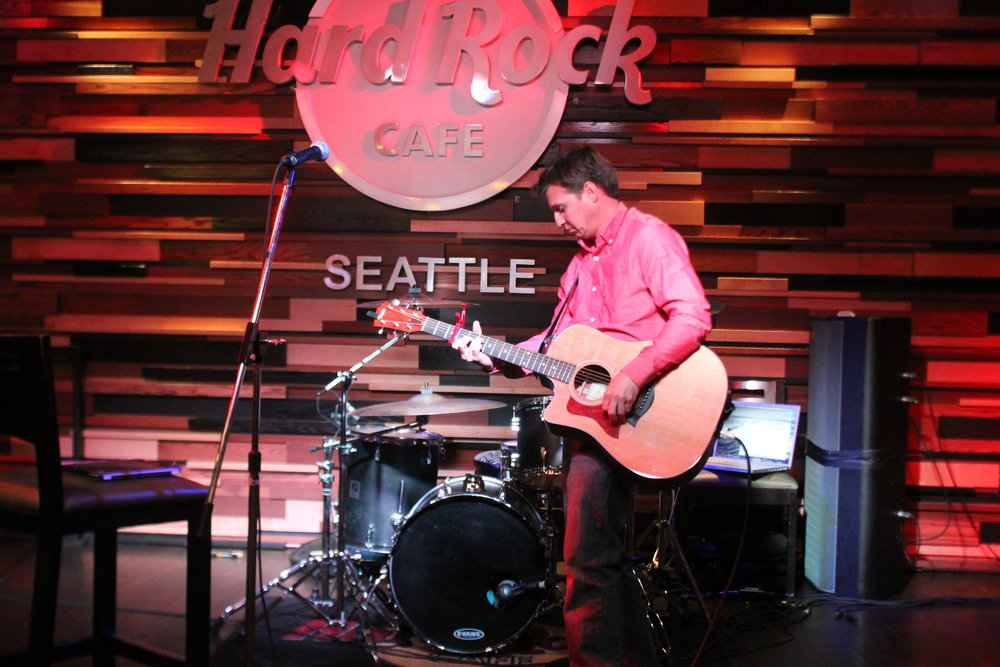 Hard Rock Cafe--Seattle, WA               April 2016