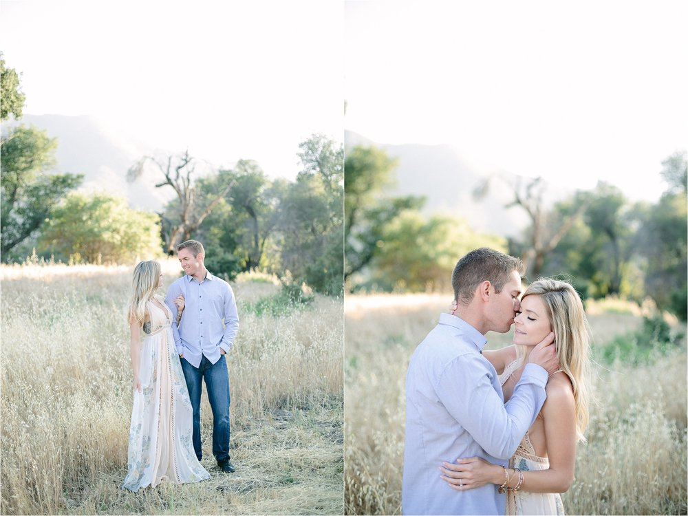 Santa Clarita Engagement Photo Shoot