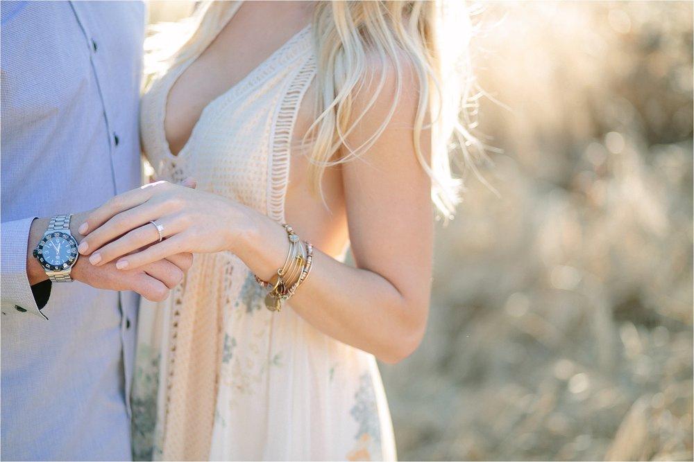 Santa Clarita Engagement Ring Detail Photo