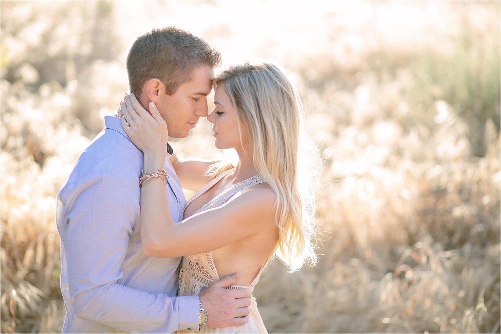 Santa Clarita Close Up Engagement Photo