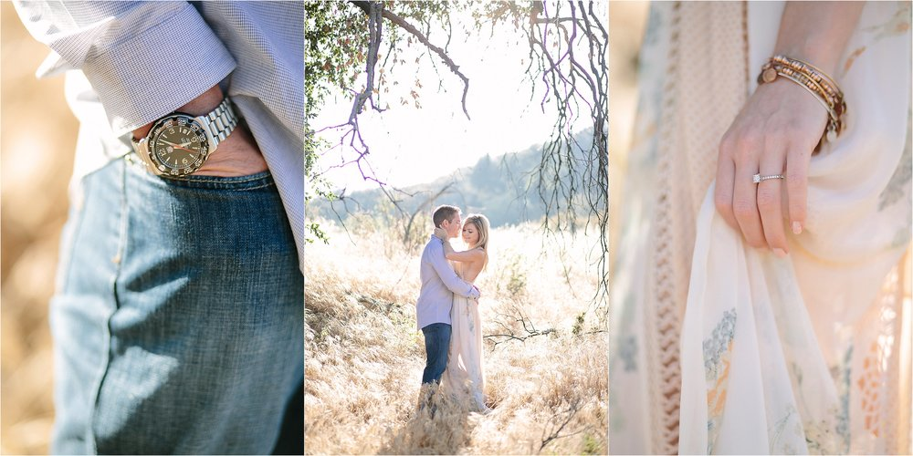 Santa Clarita Engagement Detail Photo