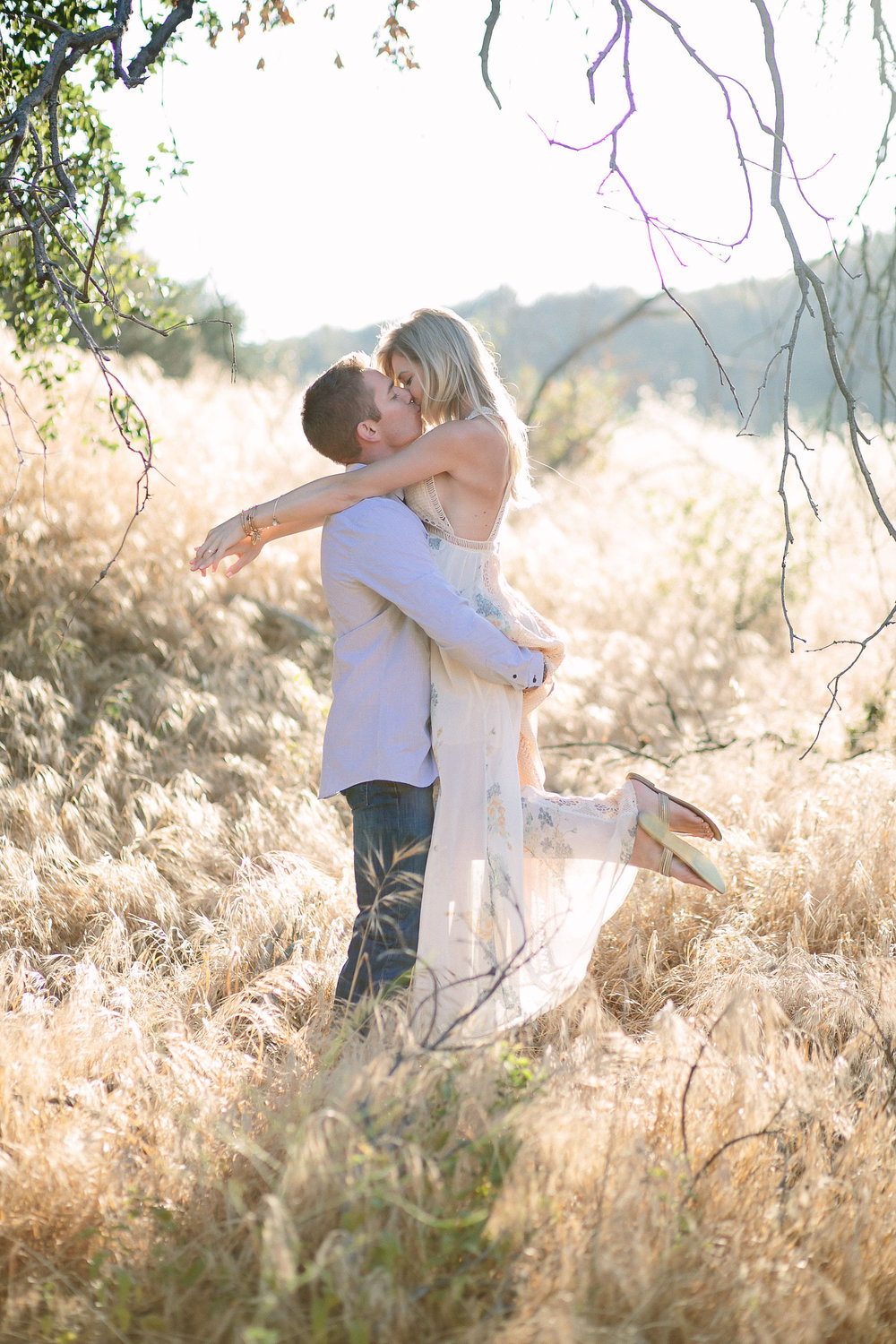 Santa Clarita Outdoor Engagement Photo Shoot