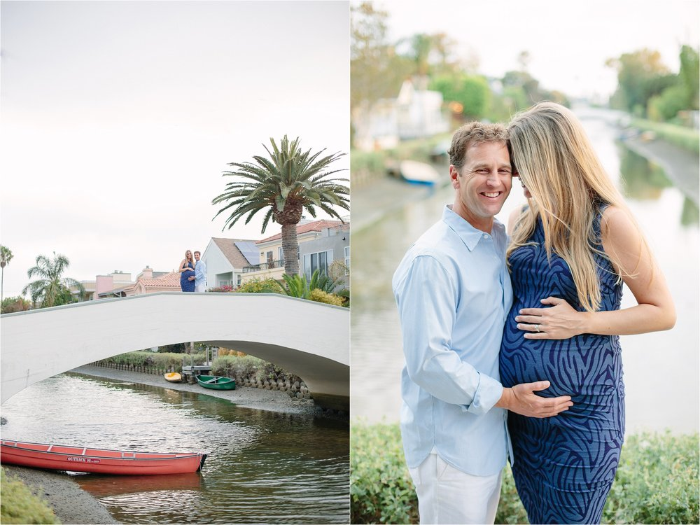 Venice Maternity Photo Shoot