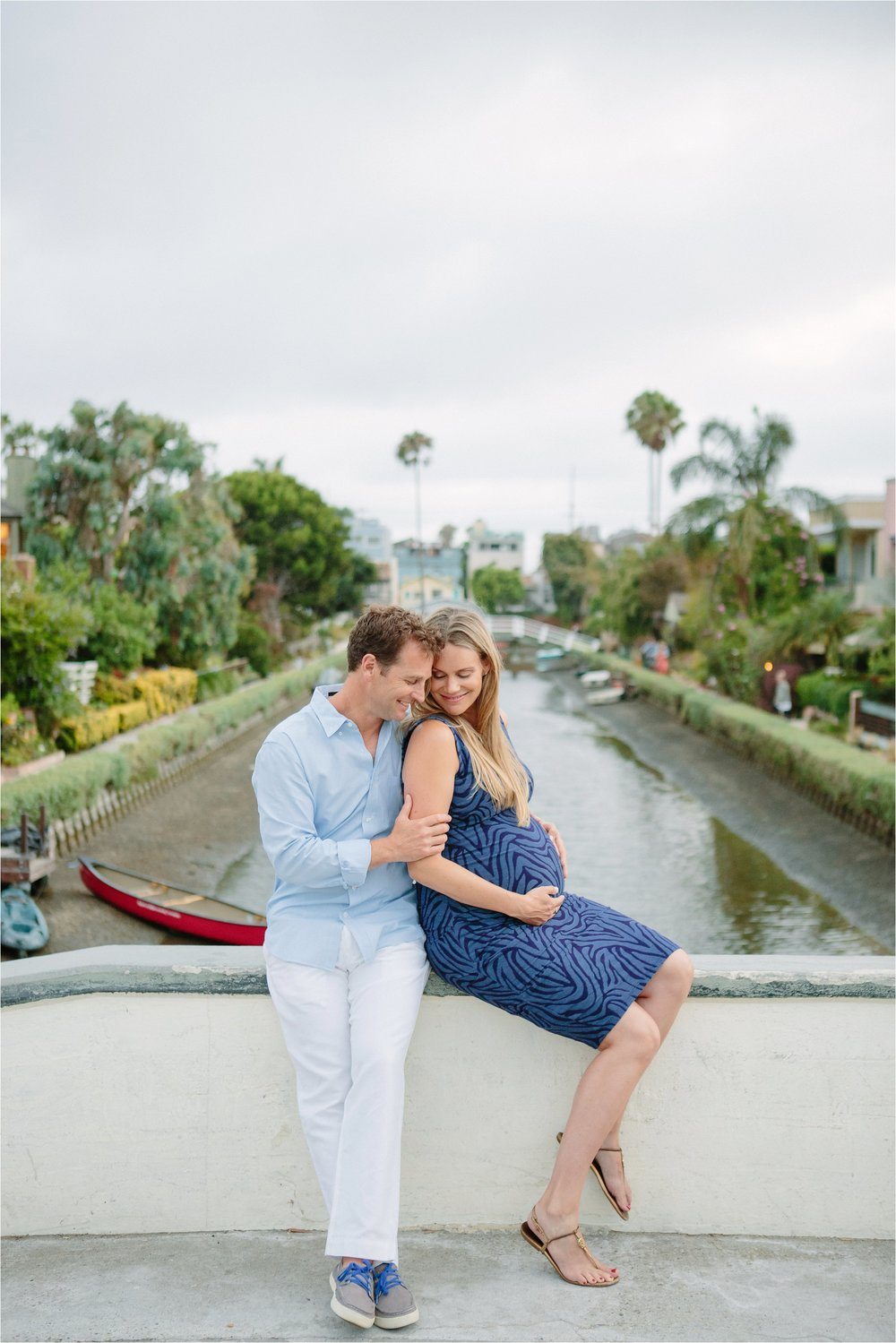 Venice Canals Expecting Parents Photo